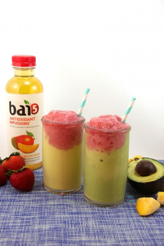 Mango Berry Avocado Smoothie