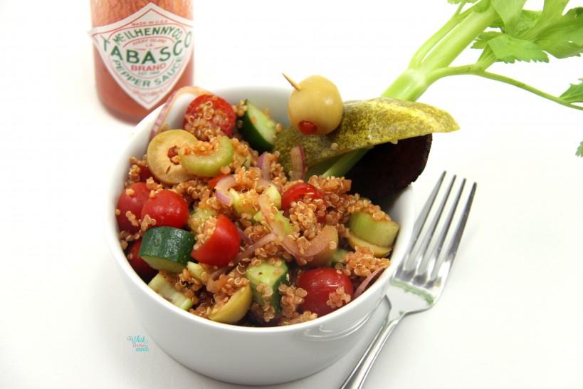 Bloody Mary Quinoa Salad
