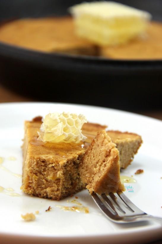 Cast Iron Lemon Honey Cake