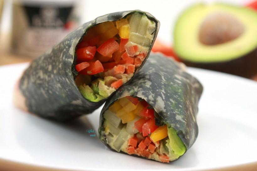 Wasabi Hummus Roll