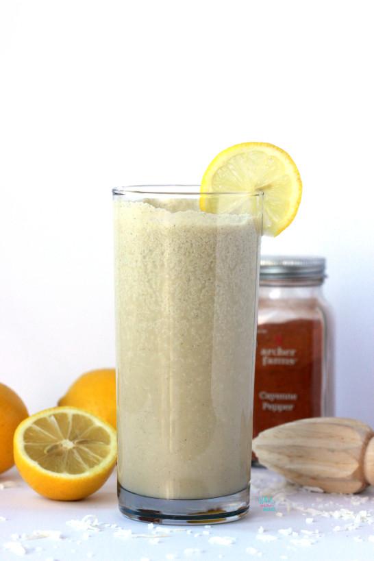 Kickin' Lemon Coconut Smoothie