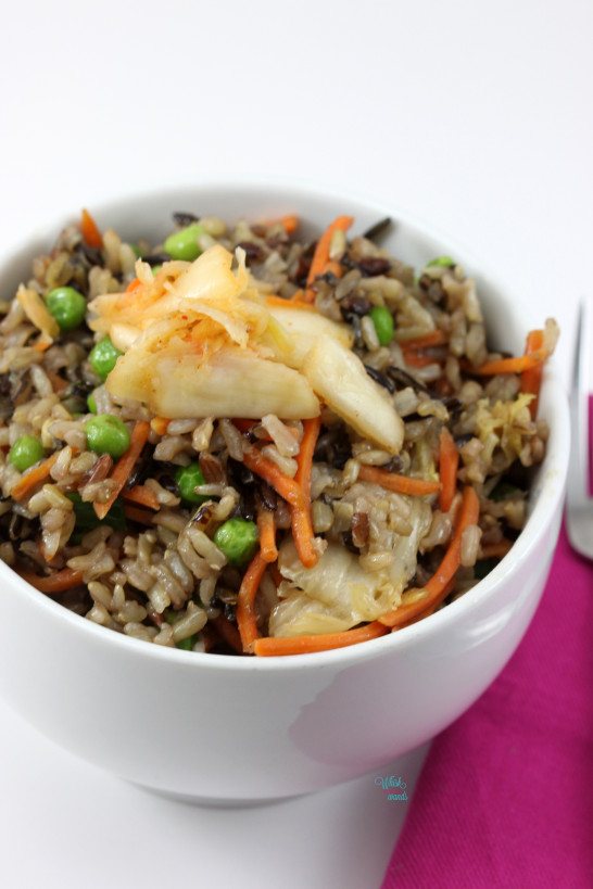 Kimichi Fried Wild Rice