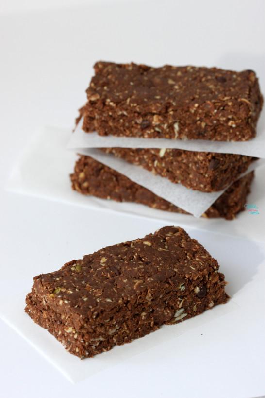 Mocha Muesli Protein Bars