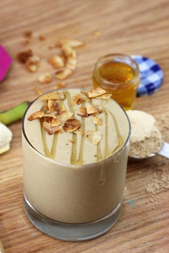 Elvis Protein Smoothie (gluten free, vegan friendly)