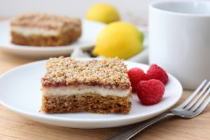 A Whisk and Two Wands Lemon Raspberry Coffee Cake