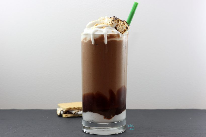 S'more Frappe Protein Smoothie