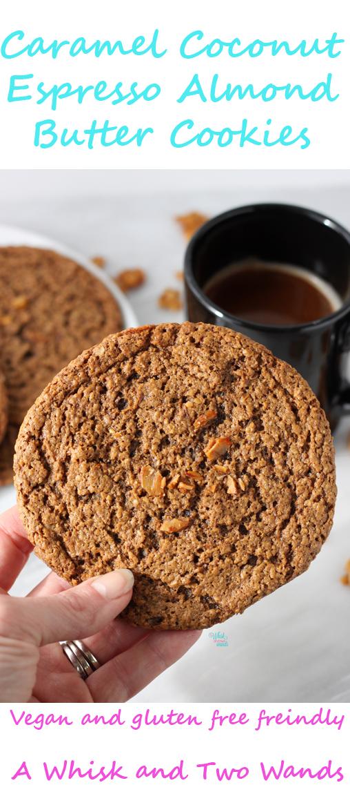 Caramel Coconut Espresso Almond Butter Cookie