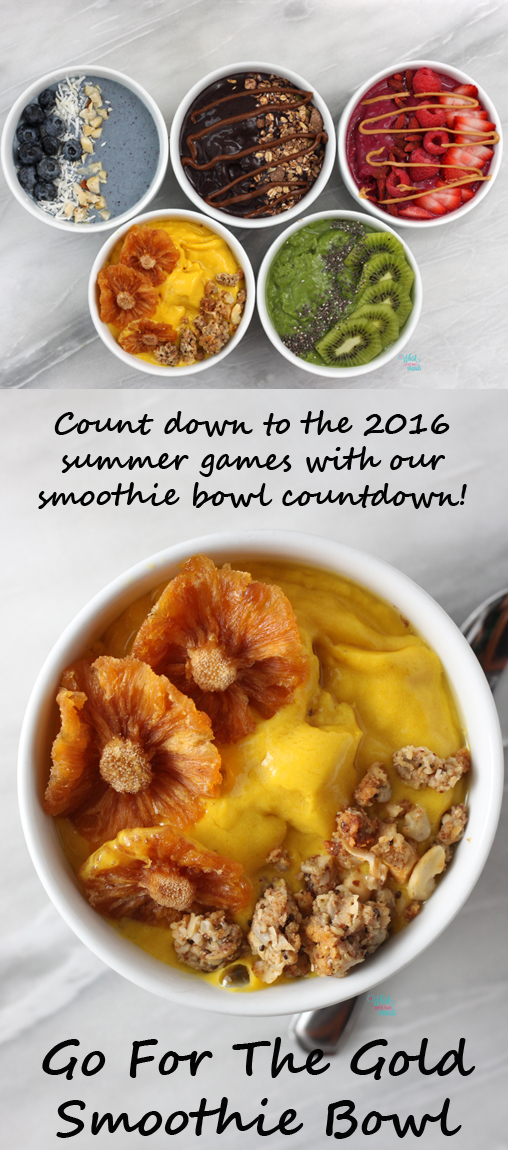 Go For The Gold Smoothie Bowl