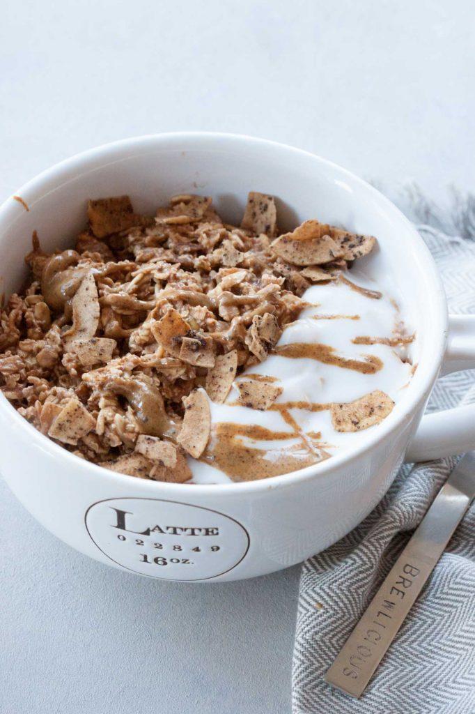 Dirty Chai Muesli Bowl