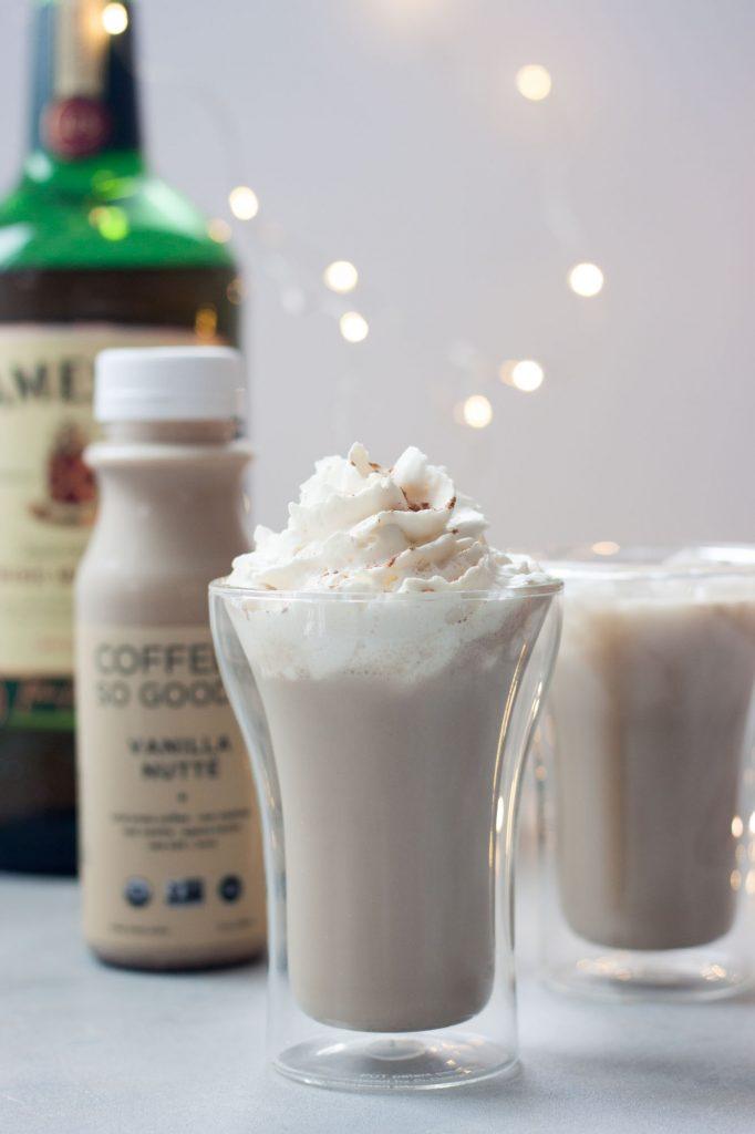 Irish Cream Coffee So Good Cocktail (dairy free, vegan, gluten free)