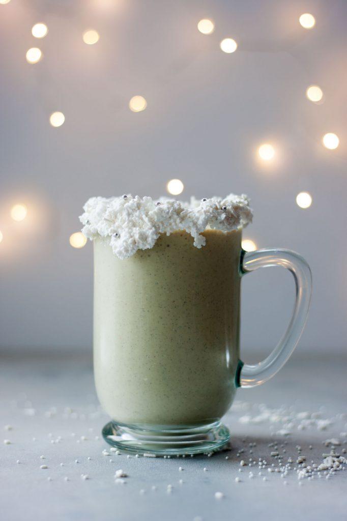 Sugar Cookie Protein Shake (gluten free and vegan friendly)