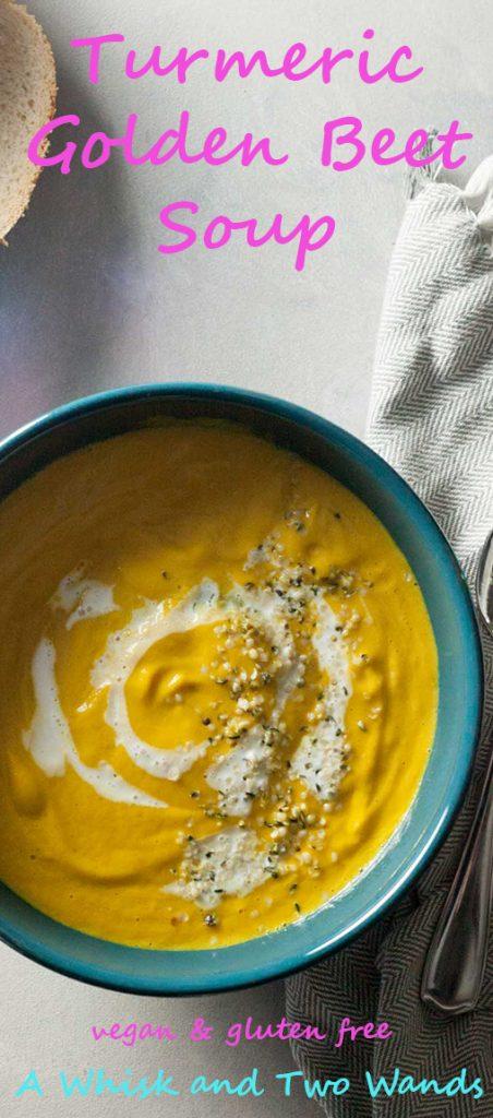 Turmeric Golden Beet Soup