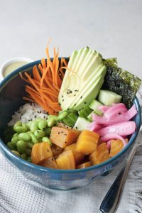A Whisk and Two Wands, Beet this Poke Bowl