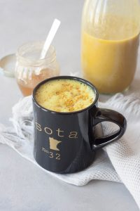 A Whisk and Two Wands, Bee Sting Turmeric Latte