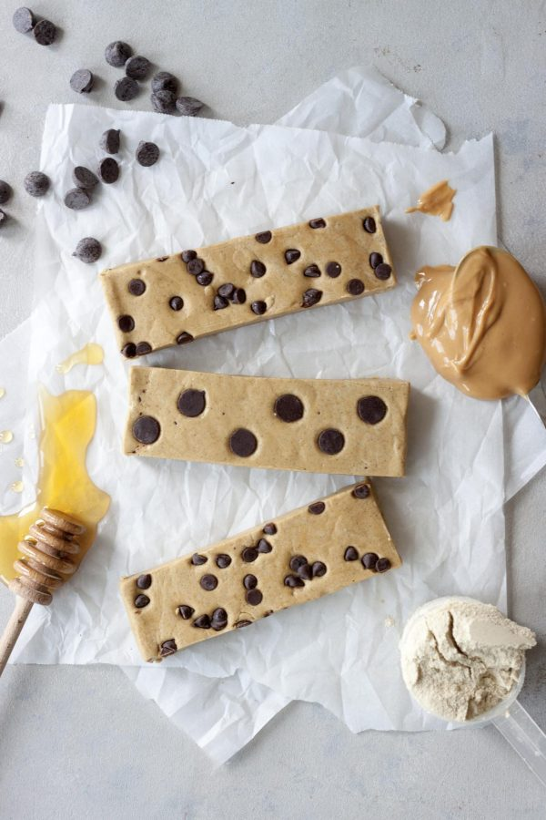 Easy PB Protein Bars, A Whisk and Two Wands
