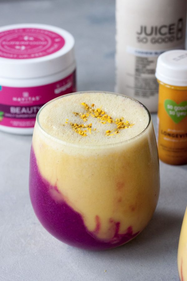 A Whisk and Two Wands, Golden Goddess Smoothie