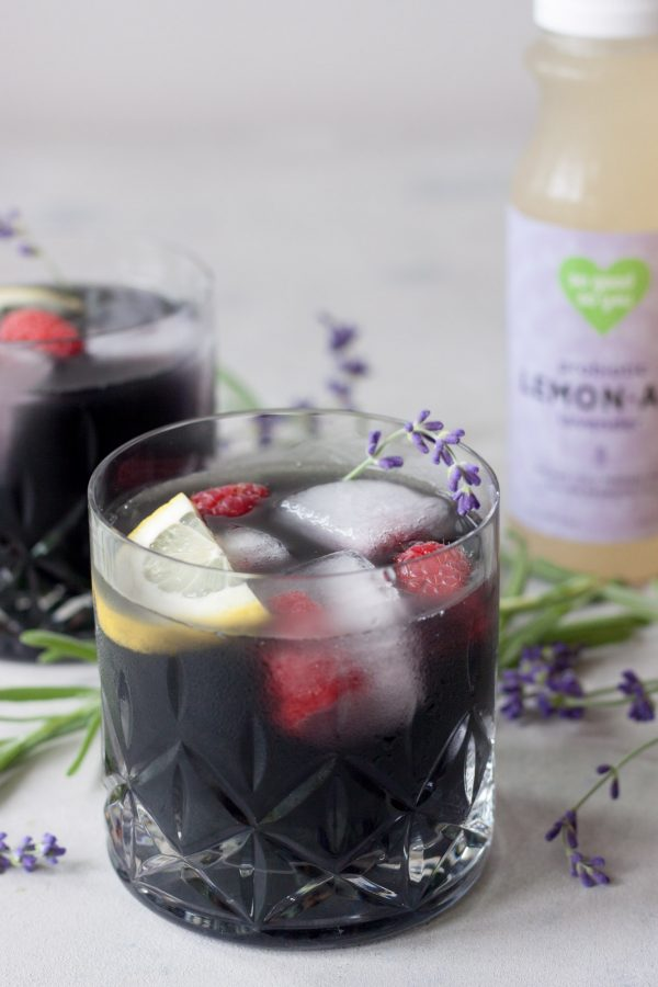 Black Lavender Lemonade, A Whisk and Two Wands