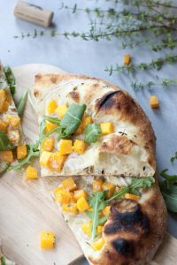 Butternut Squash Neapolitan Pizza, A Whisk and Two Wands