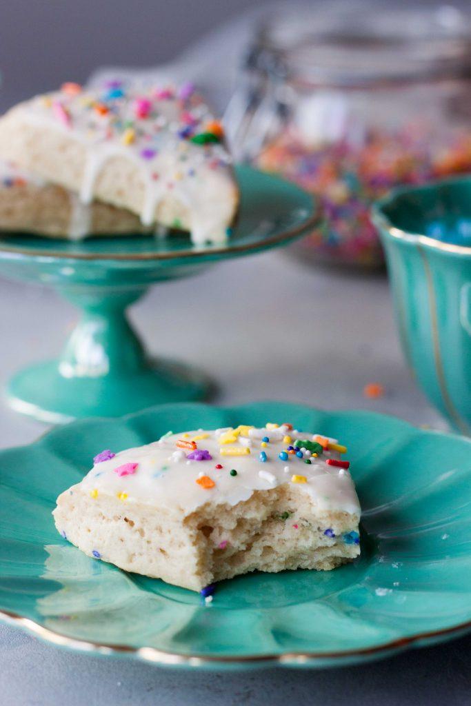 Birthday Cake Scone