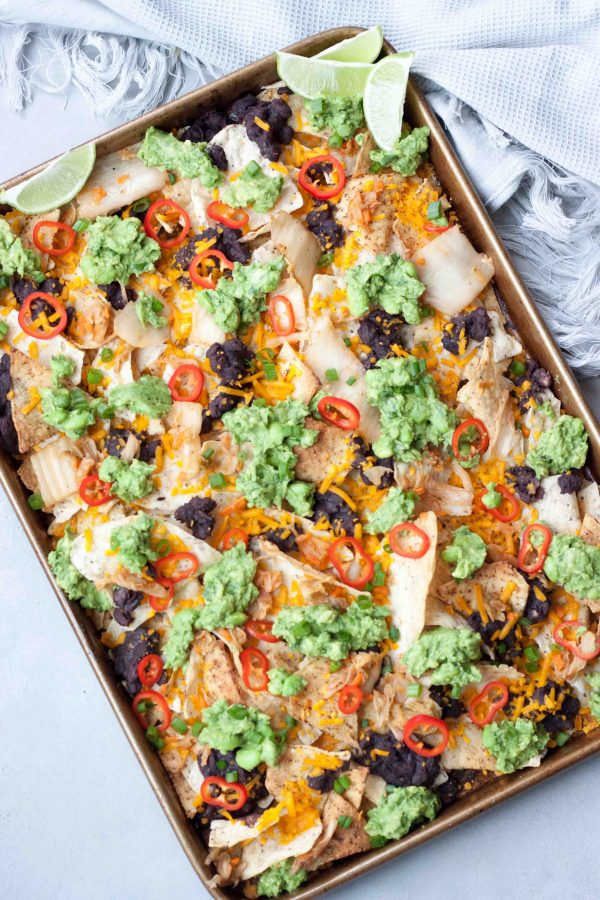 Vegan Kimchi Nachos, A Whisk and Two Wands
