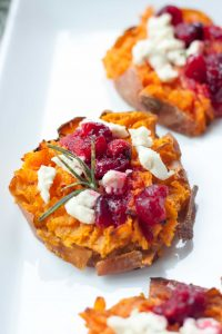 Smashed Sweet Potatoes, A Whisk and Two Wands