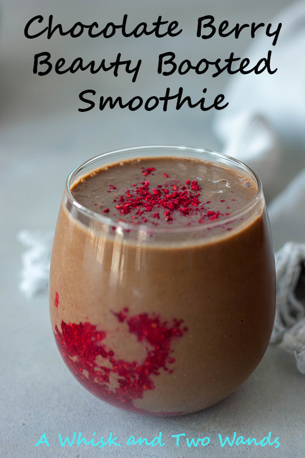 Chocolate Berry Boosted Smoothie