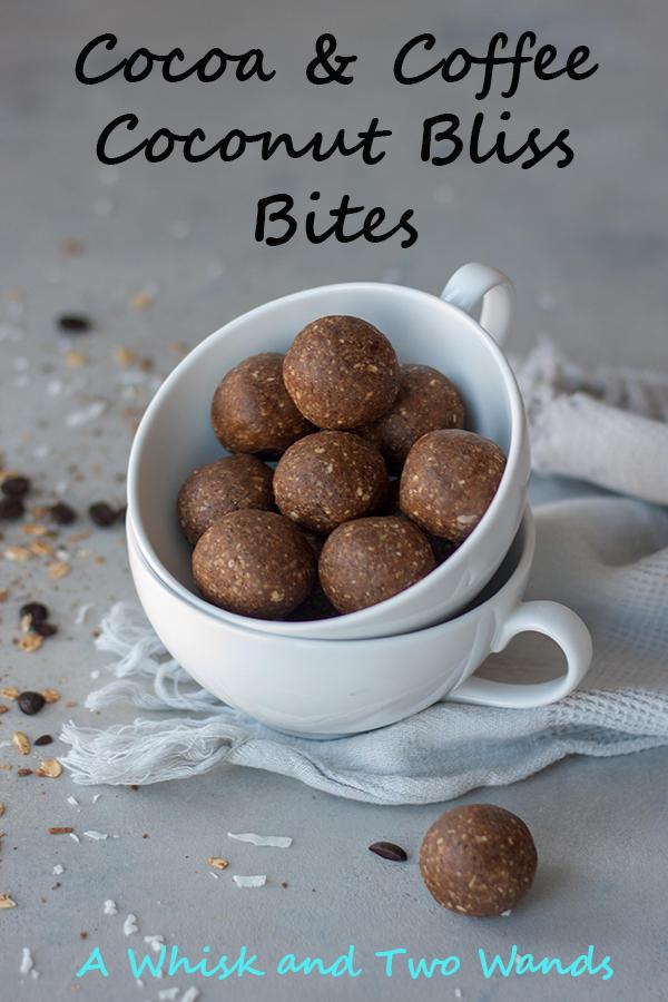 Cocoa & Coffee Coconut Bliss Bites
