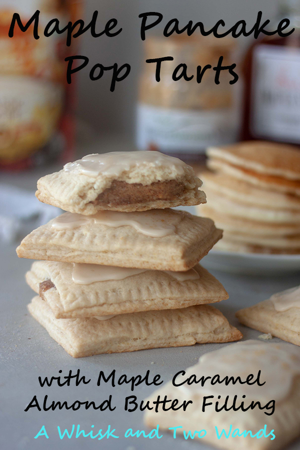Maple Pancake Pop Tarts are simply delicious and make it possible to take all the flavor of maple pancakes with you on the go whereever your morning takes you. Made easy with pancake mix these pop tarts are vegan and there is a paleo and gluten free friendy option.