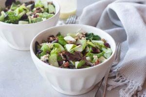 Apple Cranberry Maple Pecan Salad