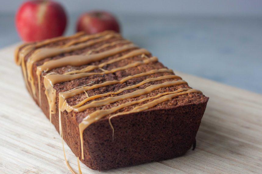 Loaf of Apple Bread