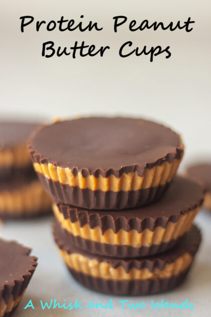 Healthier Protein Peanut Butter Cups are a homemade healthier copycat version of Reese's Peanut Butter Cups packed with plant-based protein that are mom and kid approved! Gluten free and vegan friendly.