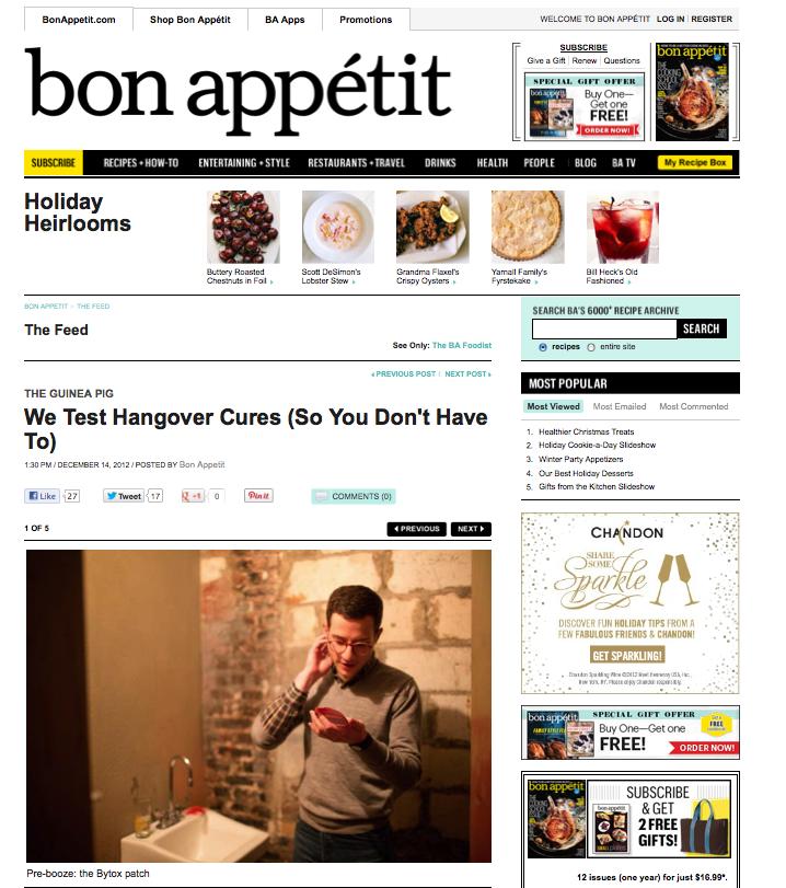 Bon Appetit – Blowfish