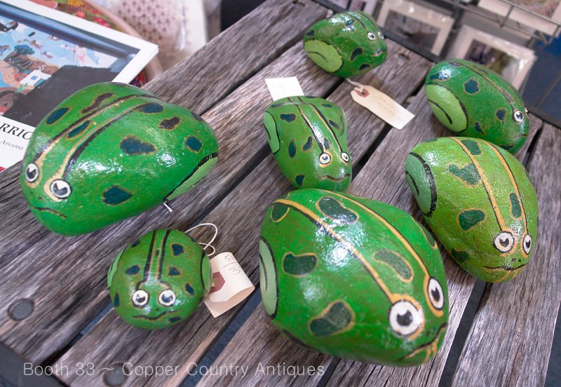 Painted frogs