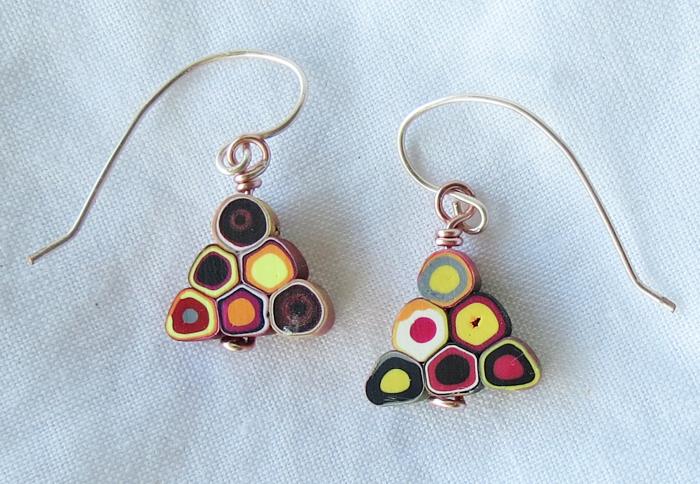 Santa Fe Triangle Earrings