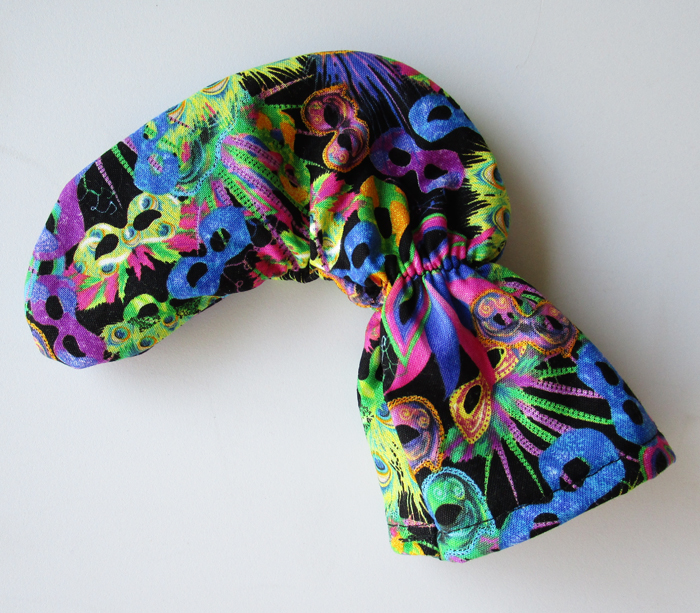 Mardi Gras Golf Club Head Cover