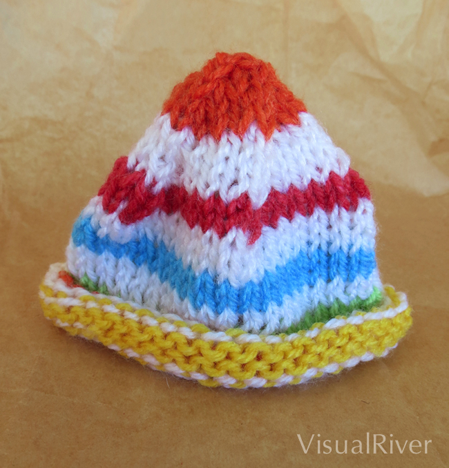 Sunshine Preemie Knit Hat