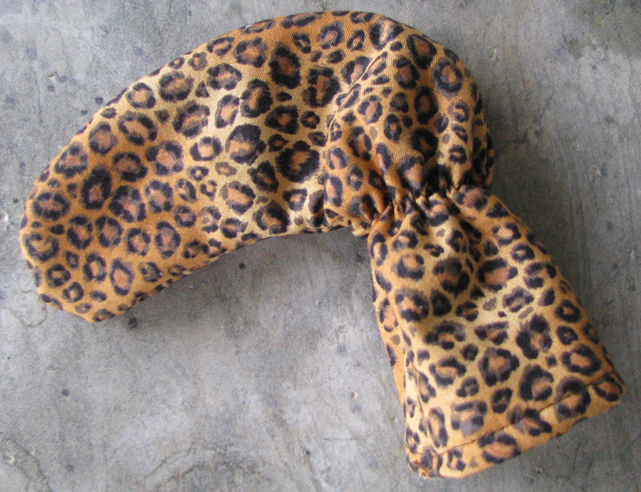 Leopard Golf Putter Cover