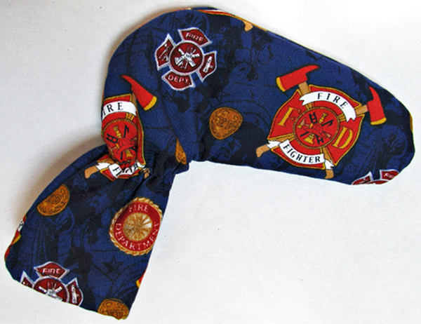 Firefighter Golf Club Putter Cover