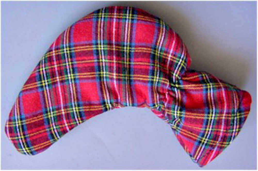 Red Tartan Plaid Putter Cover