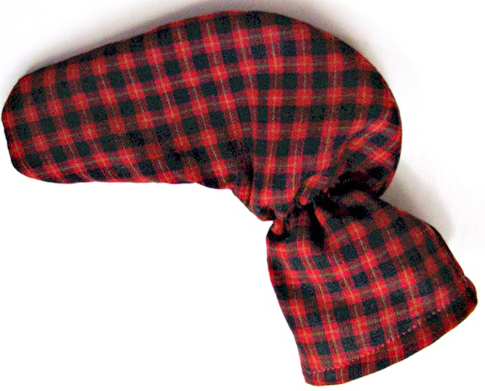 Black and Red Tartan Plaid Putter Cover