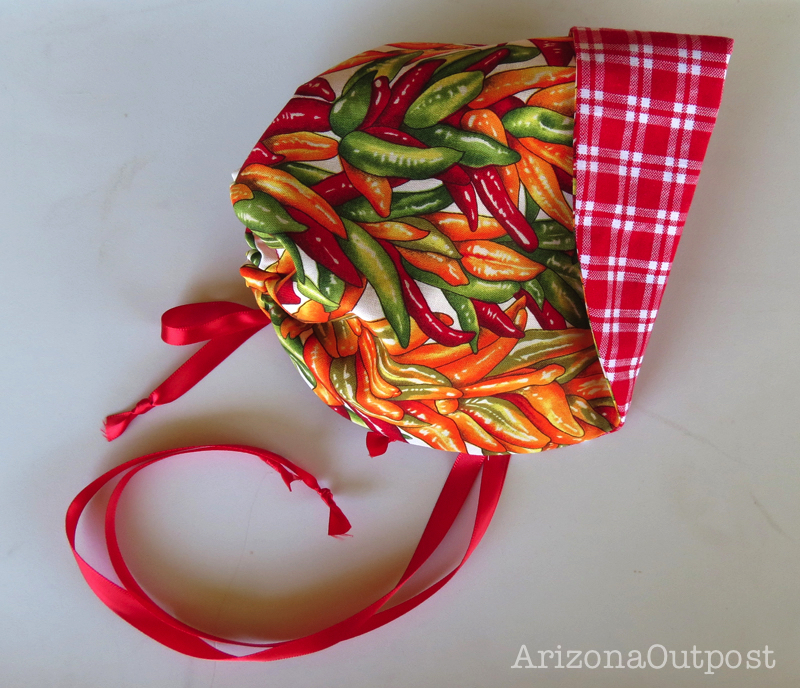 Chili Pepper Baby Bonnet