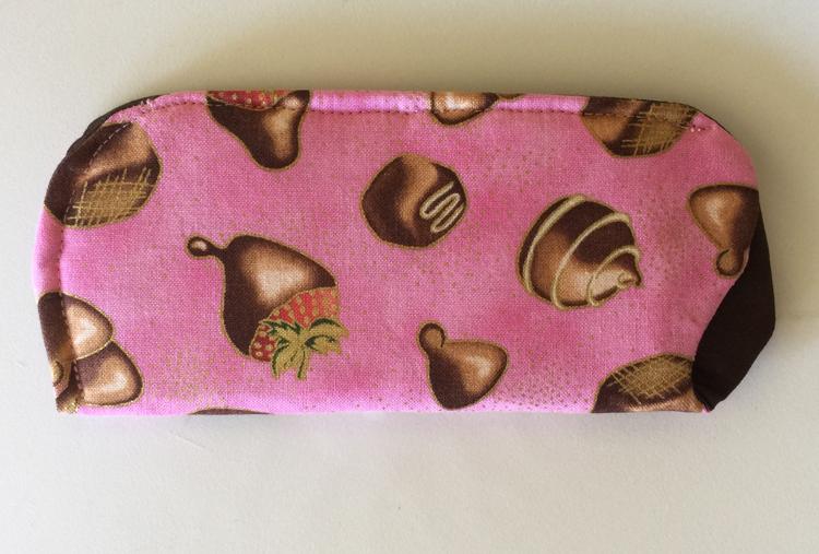 Chocolates Eyeglass Case