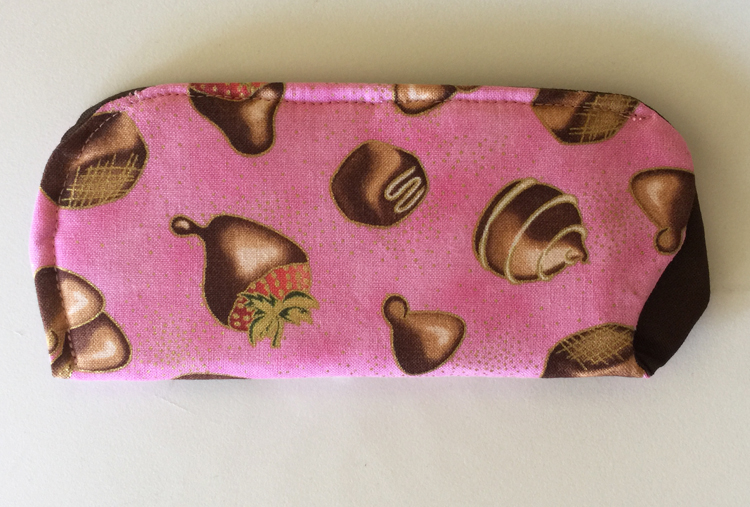 Chocolates Eyeglass Case