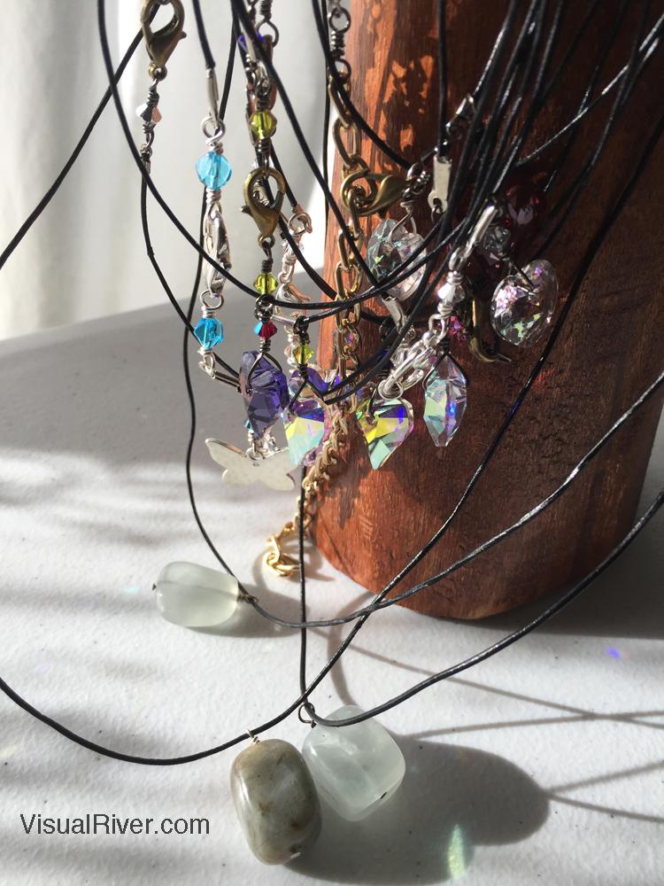 New Swarovski Crystal Heart Necklaces