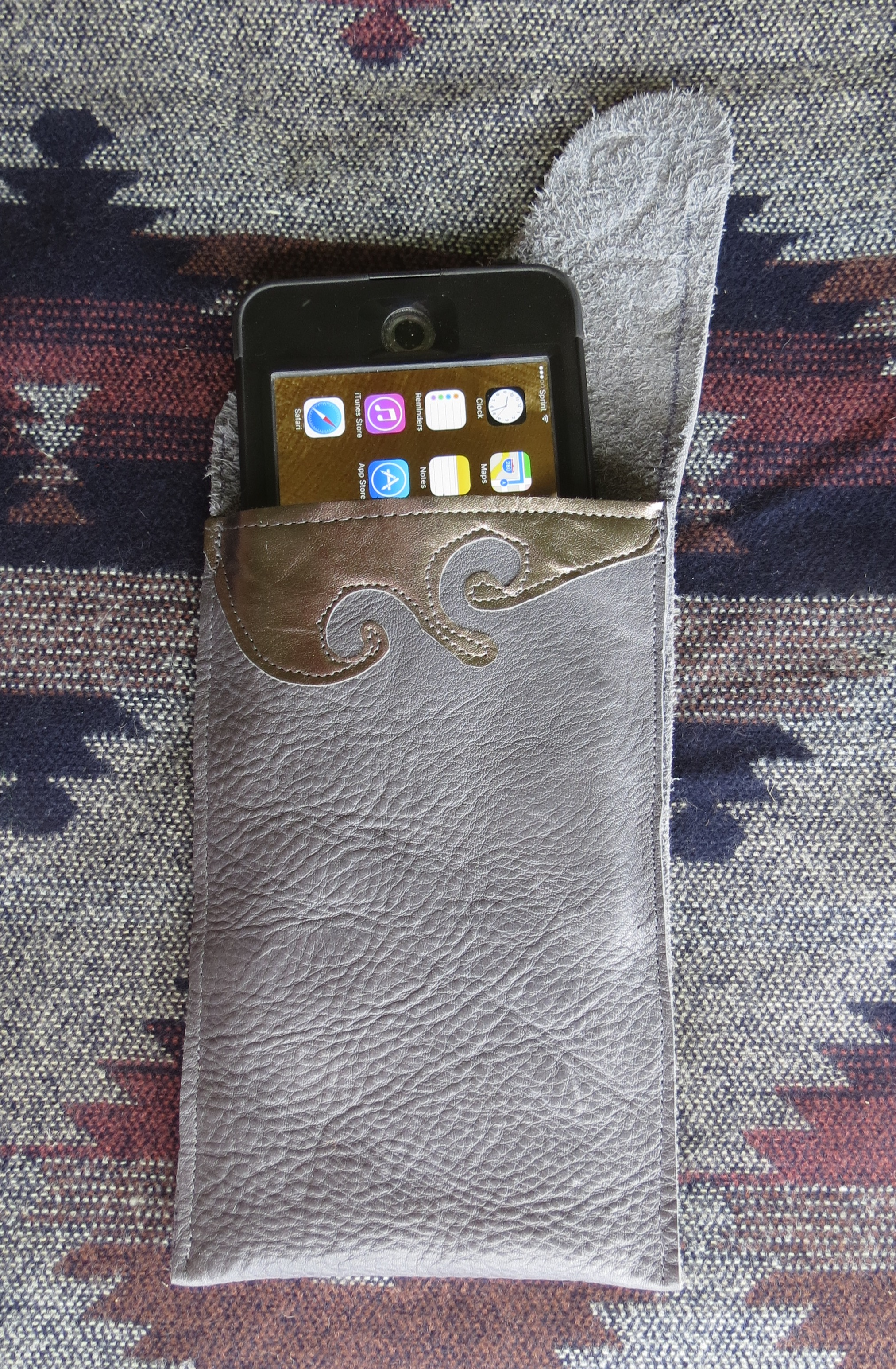 Leather iPhone 6 Plus Case Soft Sleeve for Lifeproof Case – Scottsdale
