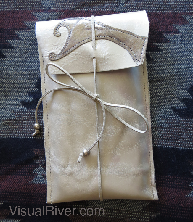 iPhone Case Sleeve Leather Pearl