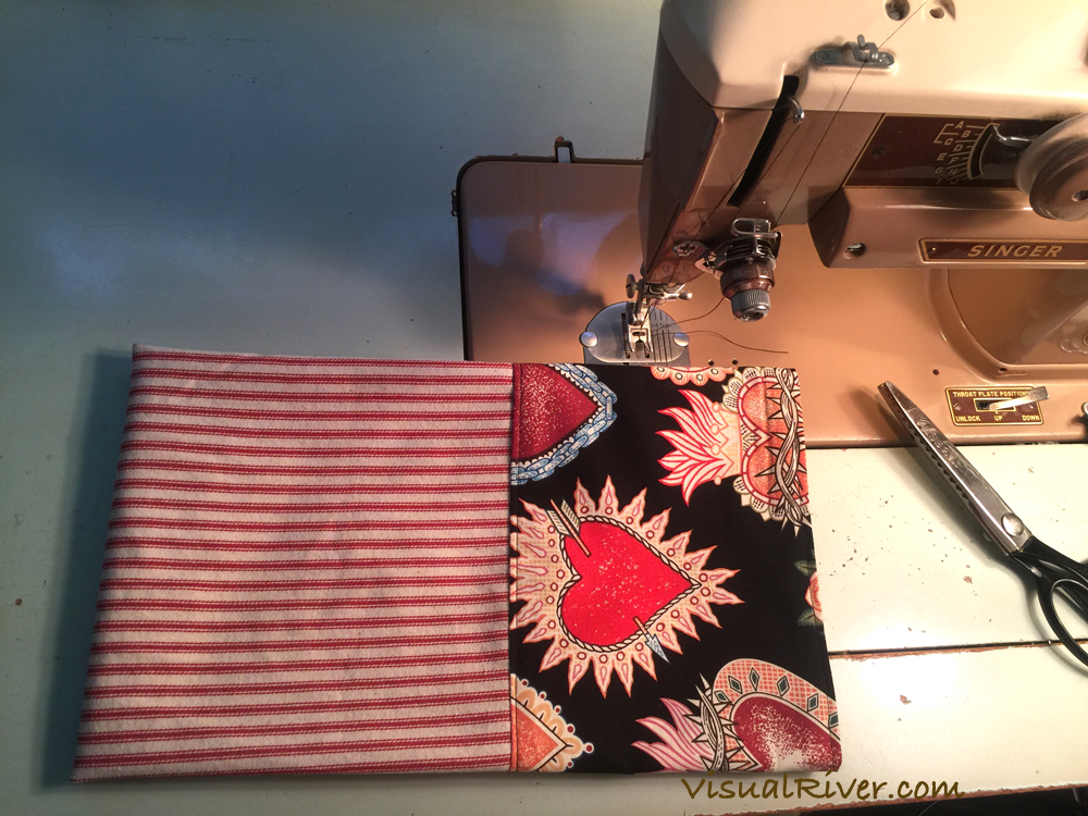Sewing Heart Kitchen Towels Today