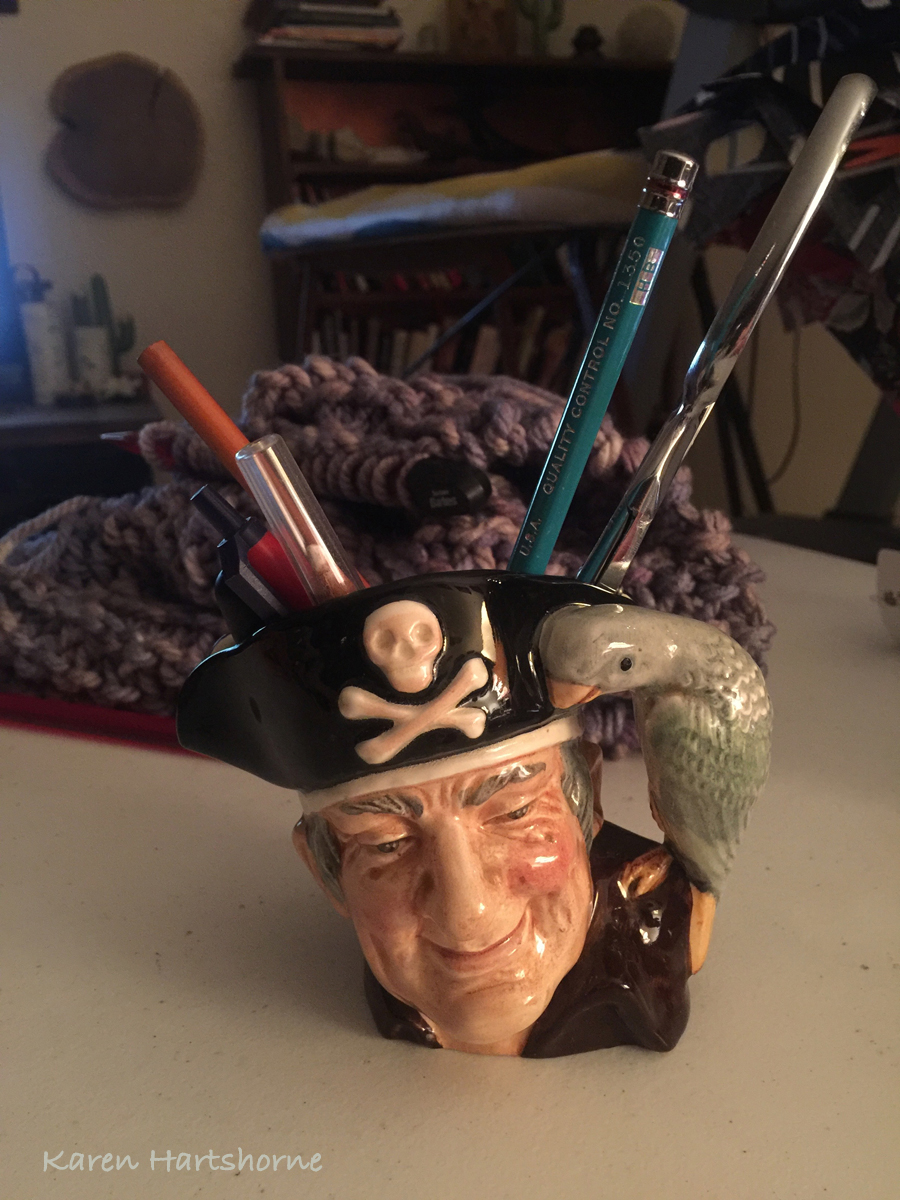 New find for my studio, Long John Silver Toby Mug