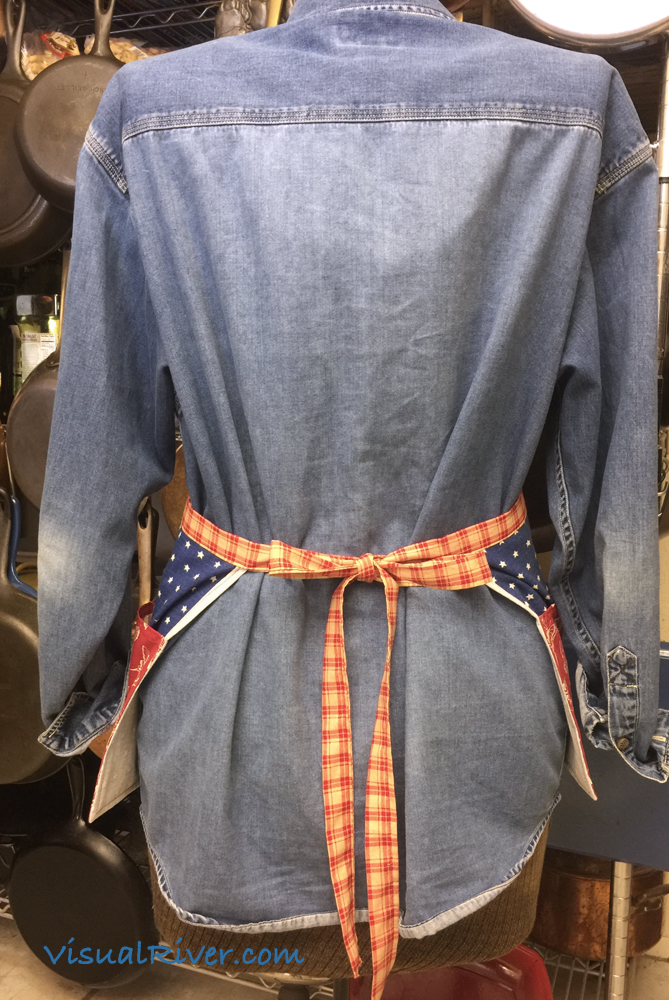 Stars and Butterflies Waitress Style Apron