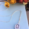 Sylvia and Ms Caluda Pendant Necklace